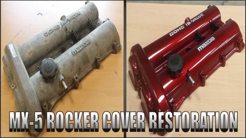 MAZDA MX-5 Rocker Cover Restoration ( Miata , Eunos )