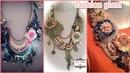 Shabby Chic Antique Handmade Lace Trim Bohamian's Necklace Design