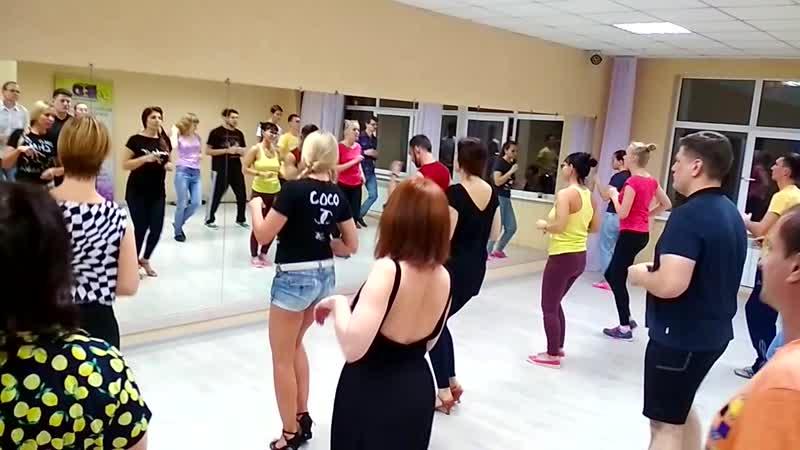 Bachata | Бачата в Омске, занятие в начинающей группе 5.11.18, Танцевальный центр PlatinumFD, Omsk