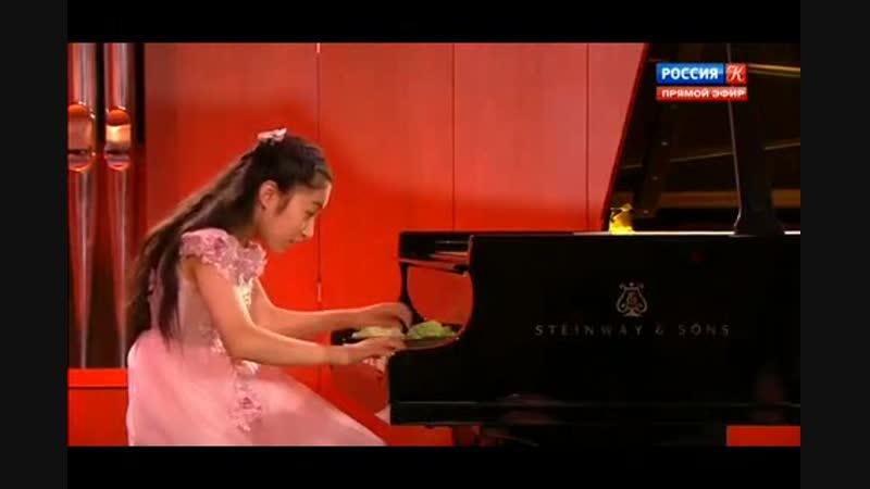 Ифэй Ши (ф-но) - Выступление на XIX Международном телевизионном конкурсе юных музыкантов Щелкунчик (6.12.2018)