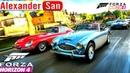 Мультики про Машинки - Гонки на Красной Машине - Мультики для Детей в игре Forza Horizon 4