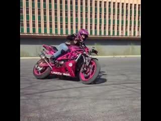 Мотоциклистки - motociclisti (девушки красотки секси pretty girls sexy)
