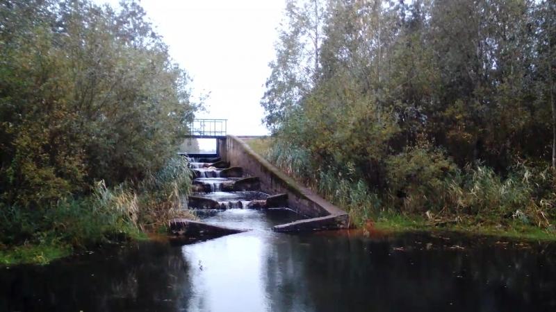 Водопад жёлоб водосток карьера