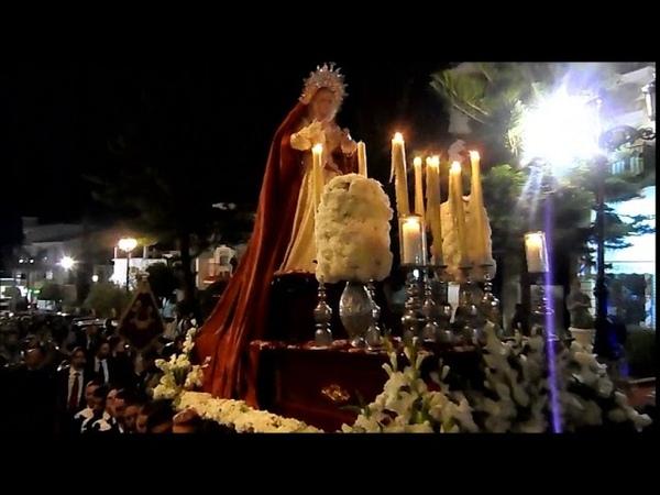 Martes Santo 2018 ALHAURIN de la TORRE, procesion VIRGEN de la AMARGURA, 27/03