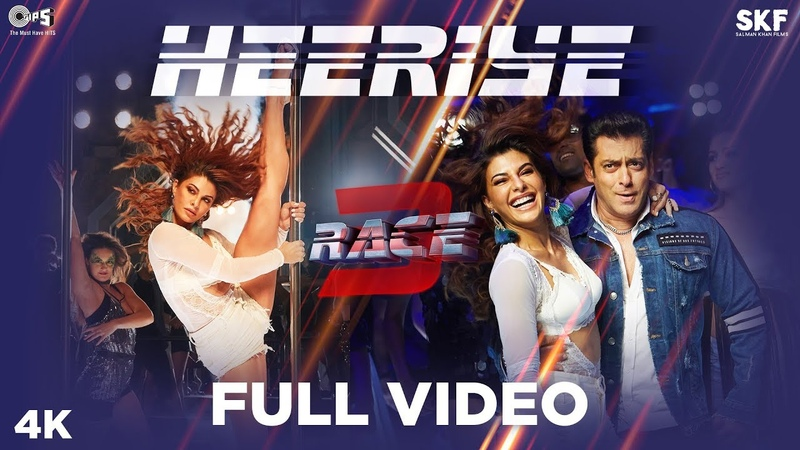 Heeriye Full Song Video - Race 3 | Salman Khan Jacqueline | Meet Bros ft. Deep Money, Neha Bhasin