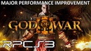 RPCS3 God of War 3 Major Performance Improvement 4K IR Gameplay