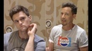 'THE FLASH' Roundtable Hartley Sawyer and Tom Cavanagh