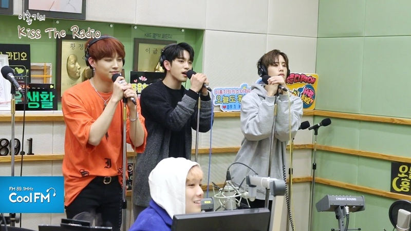 갓세븐 GOT7 마크 JB 진영 '예뻤어' 라이브 LIVE / 170323[이홍기의 키스 더 라디오]