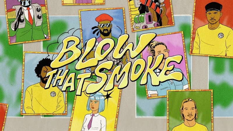 Major Lazer - Blow that Smoke (feat. Tove Lo) (Official Lyric Video)