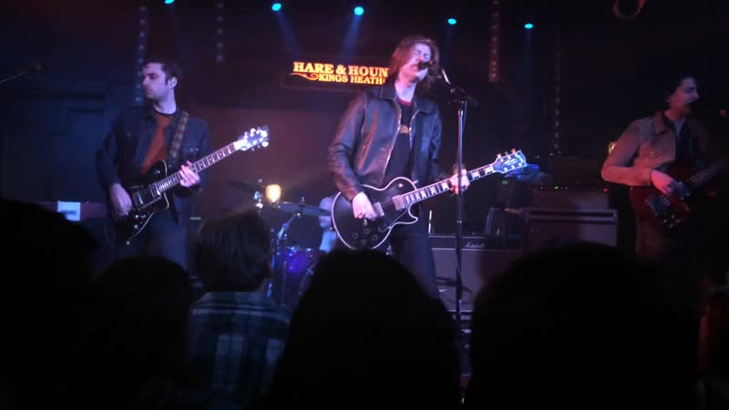 The Amazons perform Mother live at the Hare Hounds in Birmingham.