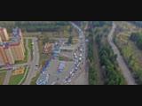Как строили развязку на 9 Января в Воронеже — за одну минуту — De Facto