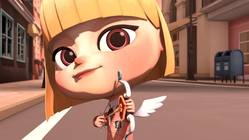큐피드(Cupid)-마음에 드는 남자를 발견한 큐피드의 선택은..?-청강 애니메이션 2016년