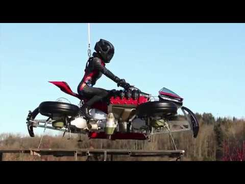 Lazareth LMV 496 - Episode 2 - La Moto Volante - Flying Bike