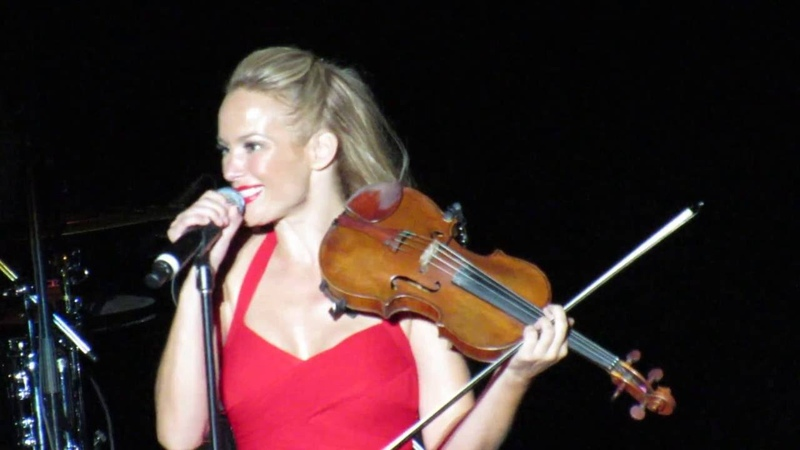 Caroline Campbell Violin Solo / Kashmir at Greek Theater LA 2016