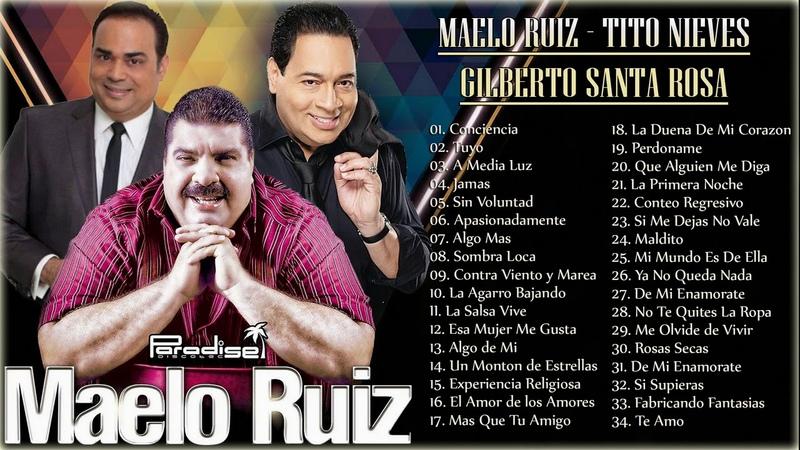 VIEJITAS CANCIONES ROMANTICAS SALSA MAELO RUIZ - GILBERTO SANTA ROSA - TITO NIEVES SALSA ROMANTICA
