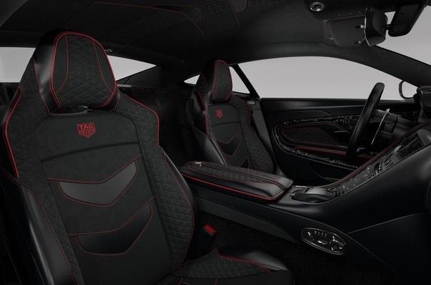 Специальное издание Aston Martin DBS Superleggera посвятили часам TAG Heuer.