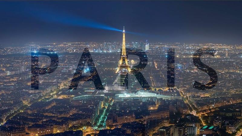 Paris en une minute visite de la ville de l'amour