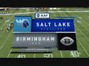 AAF 2019 / Week 02 / Salt Lake Stallions - Birmingham Iron / EN