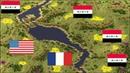 Red Alert 2 Yuris Revenge - PRO 3 vs 3 Match on the map Malibu Cliffs