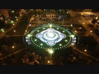 Фонтан на Площади Часов в МЖК Зеленоград