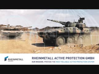 Rheinmetall Active Defence System (ADS)