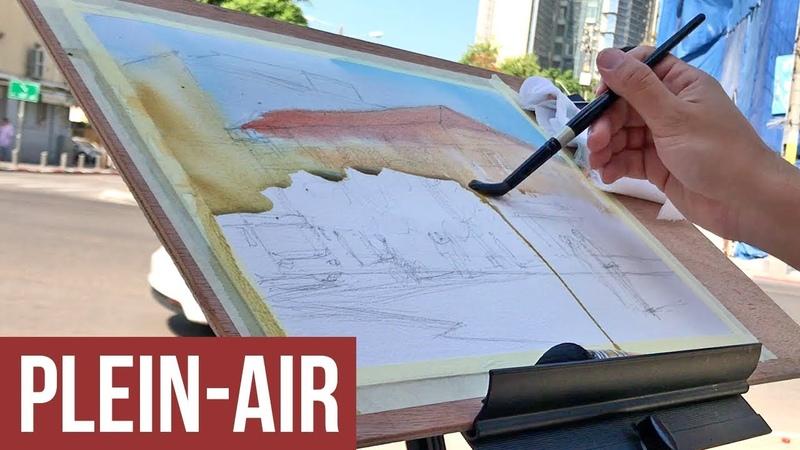 Watch Me Paint This Building On Location En Plein Air смотреть онлайн без регистрации