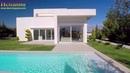 Элитная недвижимость в Испании, Хай Тек Вилла с бассейном рядом с гольф полем