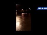Екатеринбургские стритрейсеры устроили гонки возле домов