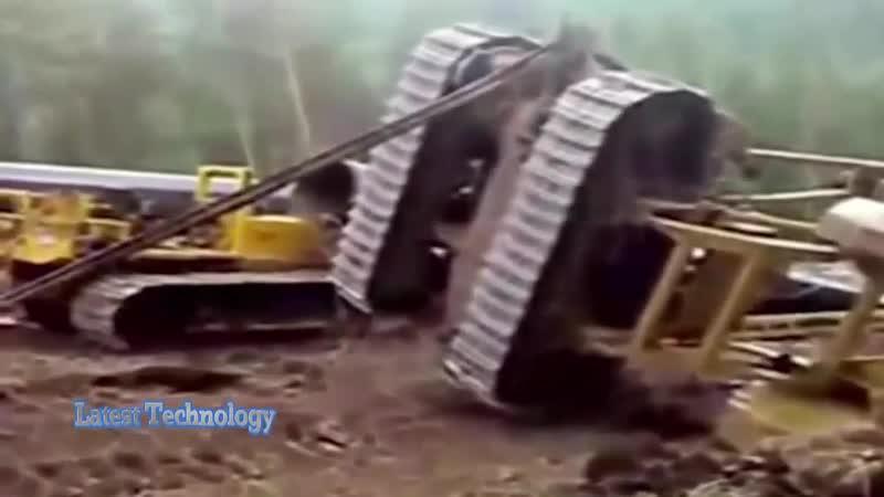 10 Dangerous Idiots Operator Heavy Equipment Machines Excavator Fastest Working Fails Skill