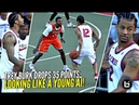 Trey Burke Gets Heckled Responds w/ 35 POINTS Looking Like a Young Allen Iverson at Dyckman!