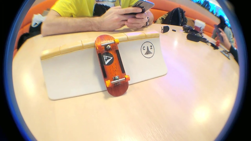 Systeam Fingerboards: Zharkov Sergey - 'QuarterStop'