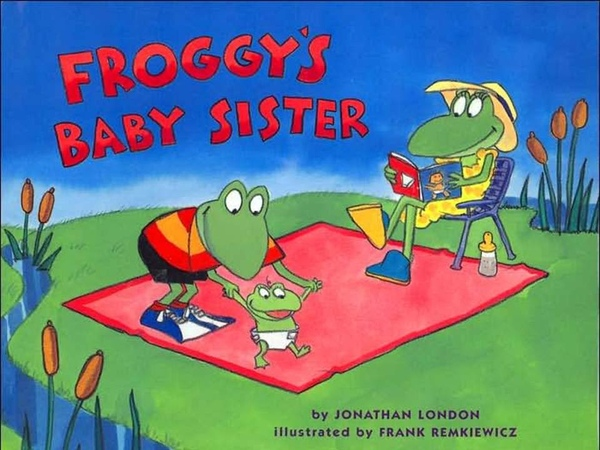 Froggys Baby Sister -Animated Childrens Book