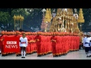 Cremation ceremony for late Thai king begins - BBC News
