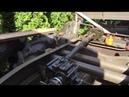 Работа лебедки ГАЗ-66 на Unimog 404 с коробкой-реверсом от мотороллера Муравей Part 3