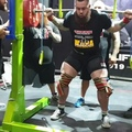 Dylan Hellriegel on Instagram 455kg1003lb. Pretty damn happy with this squat, I wasn't going to miss it with @schwarzenegger 3ft from the platf...