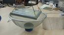 Стенд для экспериментов с энерго полостными структурами на сотовой керамике