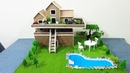 How To Make A Beautiful Villa From Cardboard Trailer