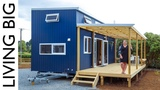 Young Woman's Incredible Tiny Forever Home Living Big In A Tiny House