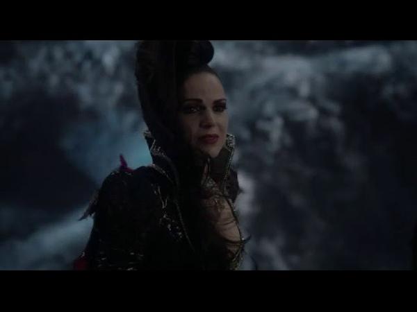 Злая Королева защищает всех от проклятия 6x22