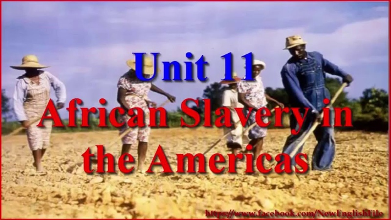 Learn English via Listening Level 3 Unit 11 African Slavery in the Americas