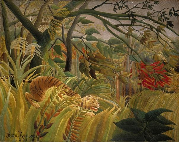 История одного шедевра. «Нападение в джунглях», Анри Руссо