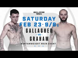 #Bellator217 James Gallagher vs. Steven Graham