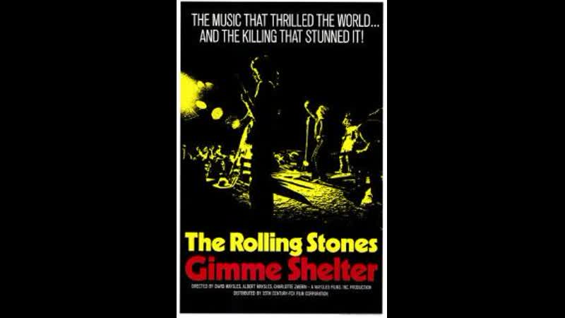 The Rolling Stones - Gimme Shelter (iLive at Altamont Concert, 1969)