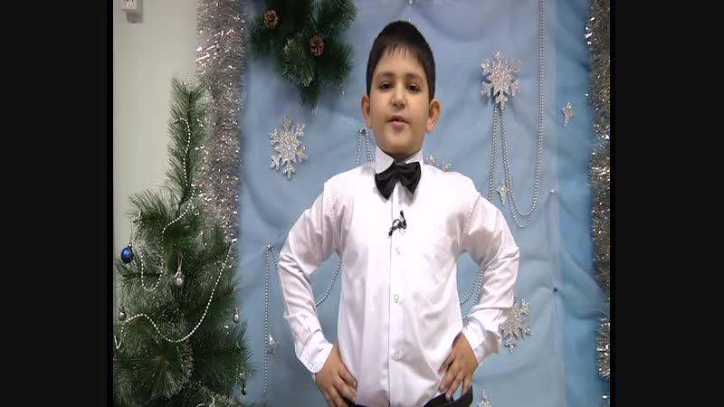 На конкурс Новогодняя звезда Участник 157 Авет Ширинян, 6 лет