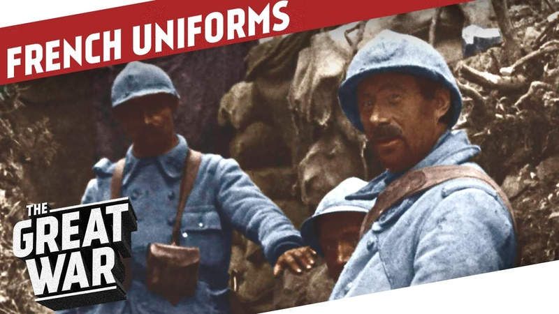 The French Uniforms of World War 1 I THE GREAT WAR - Special