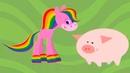 BabyFirstTV - Лошадка Радуга - мультфильмы для самых маленьких - эпизод 1