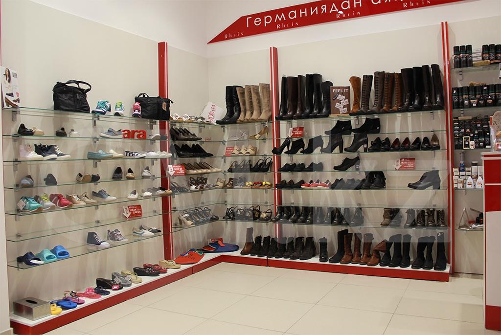 Бутик обуви в Алматы строительство проектирование