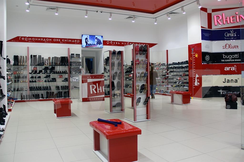 Проектирование бутика обуви Алматы