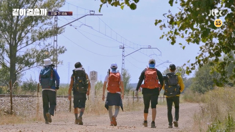[티저] 가슴 뜨거워지는 다섯 남자 god의 산티아고 순례기 〈같이 걸을까〉 10월 523