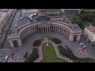 Санкт-Петербург с высоты. Полет над СПб. Питер с дрона, видео клип / Saint Petersburg Russia drone